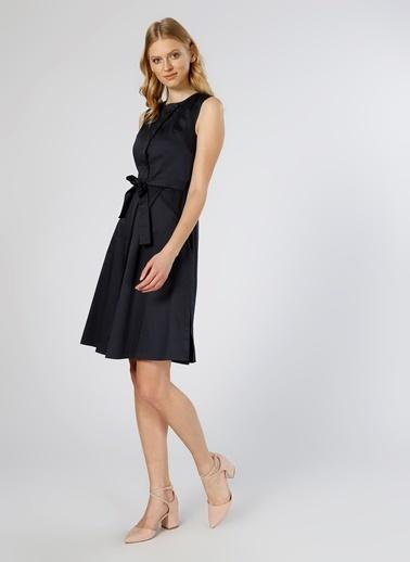 Fabrika Kolsuz Midi Elbise Lacivert